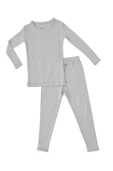 Kyte Baby Layette, Toddler Pajama Set in Storm - This Little Piggy
