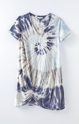 Z Supply Tie Dye Side Knot Dress - This Little Piggy
