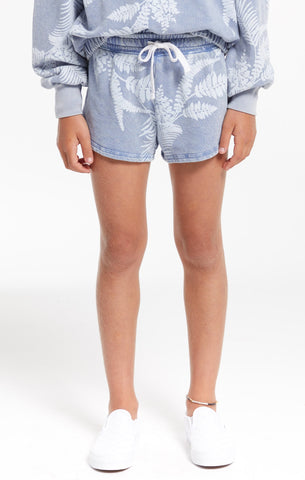 Z Supply Girls Mia Palm Short