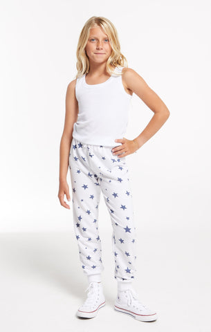 Z Supply Girls Ava Star Jogger