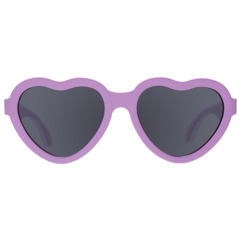 Ooh La Lavender - Heart Shaped Kids Sunglasses