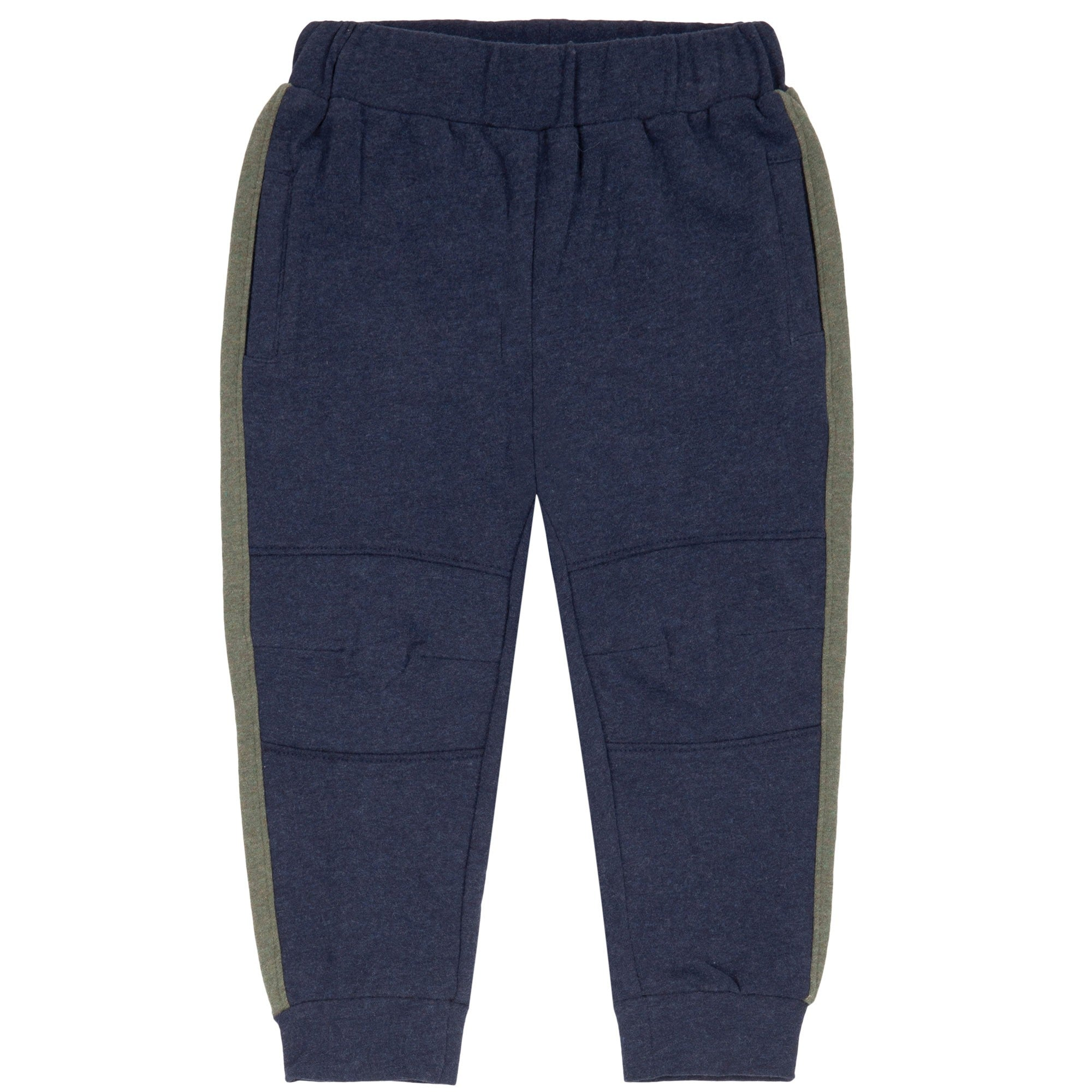 Navy Blue Jogger Fleece Pants