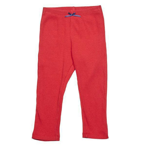 Baby RIb Legging - Red