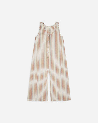 Rylee + Cru - Bridgette Jumpsuit - Multi Stripe - This Little Piggy