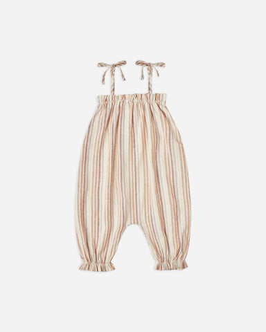 Rylee + Cru - Bubble Jumpsuit - Multi Stripe - This Little Piggy