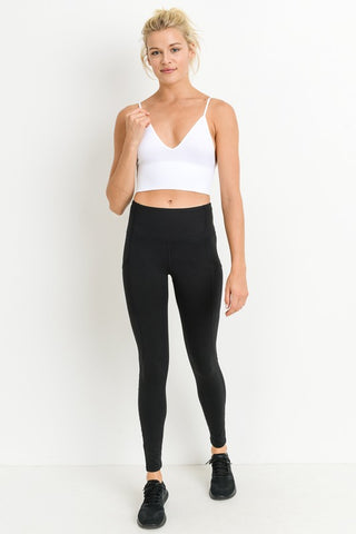 Crop Fit Seamless Camisole Athleisure Bra