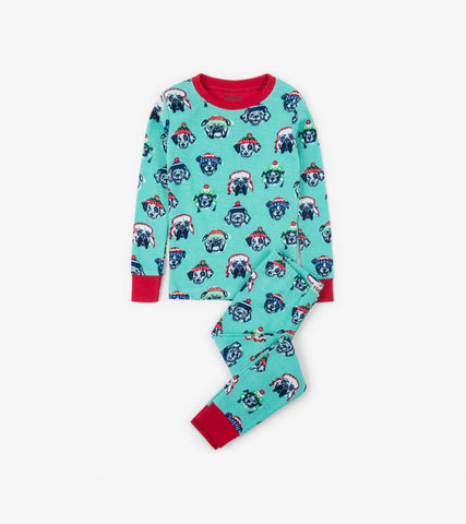 Cozy Pups Organic Cotton Pajama Set - This Little Piggy