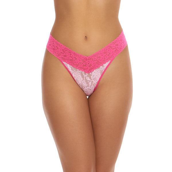 Rolled Colorplay Thong Panty