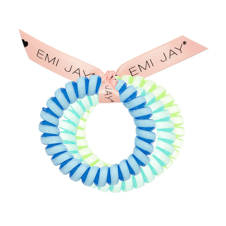 Glow in the Dark Twist Hair Ties