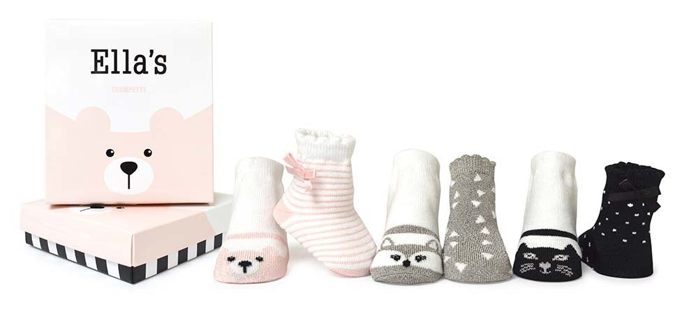 Baby Booties - 6 Pairs