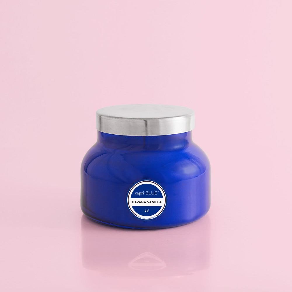 Havana Vanilla Signature Jar - blue