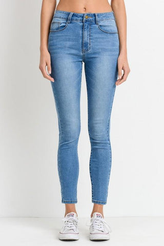 High Waist Basic Skinny Jean