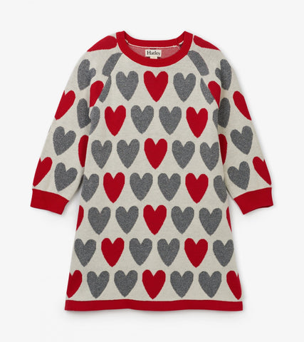 Festive Hearts Sweater - This Little Piggy