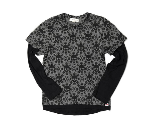 Repo Long Sleeve - Charcoal Heather