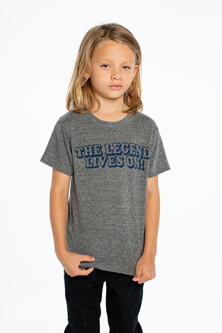 Boys Triblend Crew Neck S/S Tee (living legend) - This Little Piggy