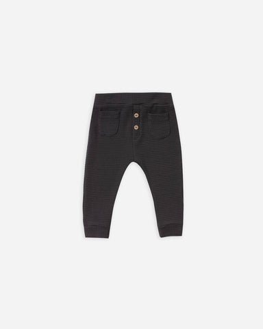 Thermal Pant - Black - This Little Piggy