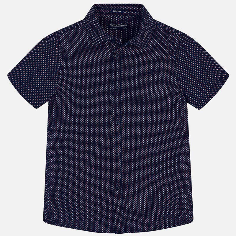 Navy Short Sleeve Shirts