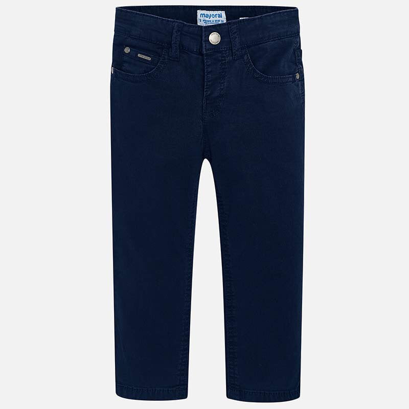 Basic Slim Fit Serge Pants