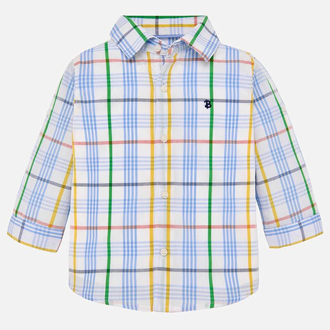 Long Sleeve Checked Shirt
