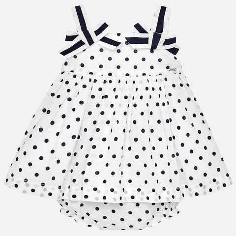 Polka Dot Dress with Knickers