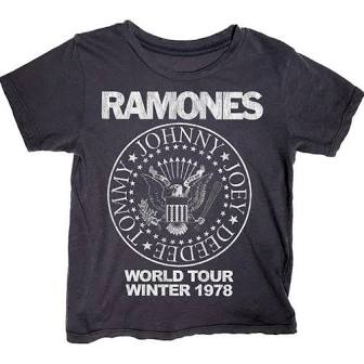 Rowdy Sprout - Ramones Simple Tee - This Little Piggy
