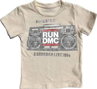 Rowdy Sprout - RUN DMC Simple Tee - This Little Piggy