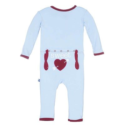 Holiday Layette Applique Coverall
