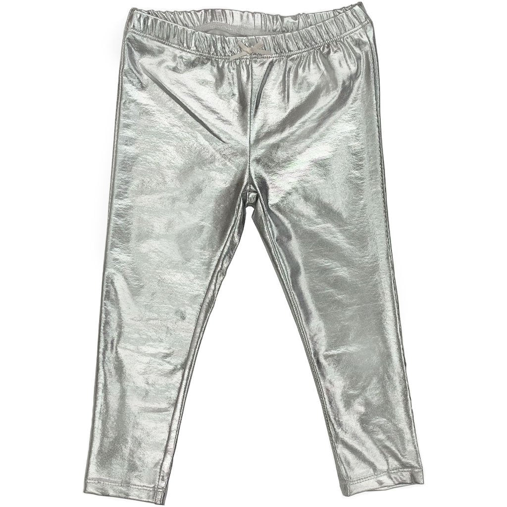 Lame Legging - Silver