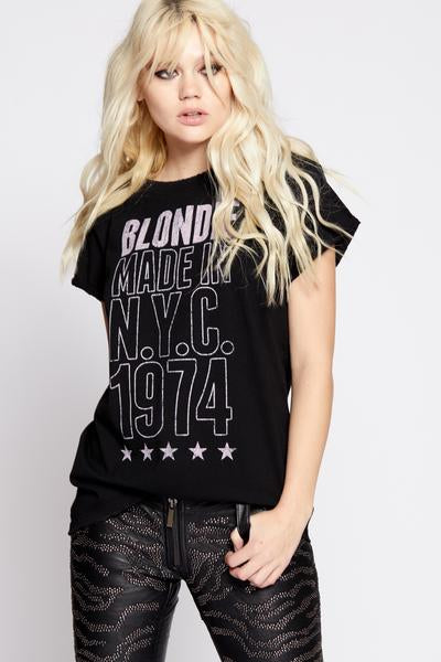 Blondie Made In N.Y.C 1974 Tee
