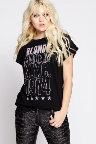 Blondie Made In N.Y.C 1974 Tee - This Little Piggy