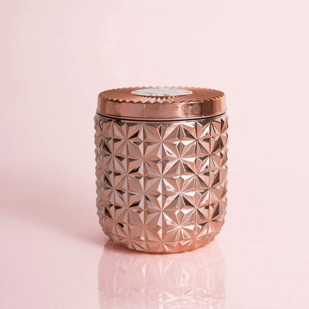 Pink Grapefruit & Prosecco Gilded Faceted Jar, 30 oz