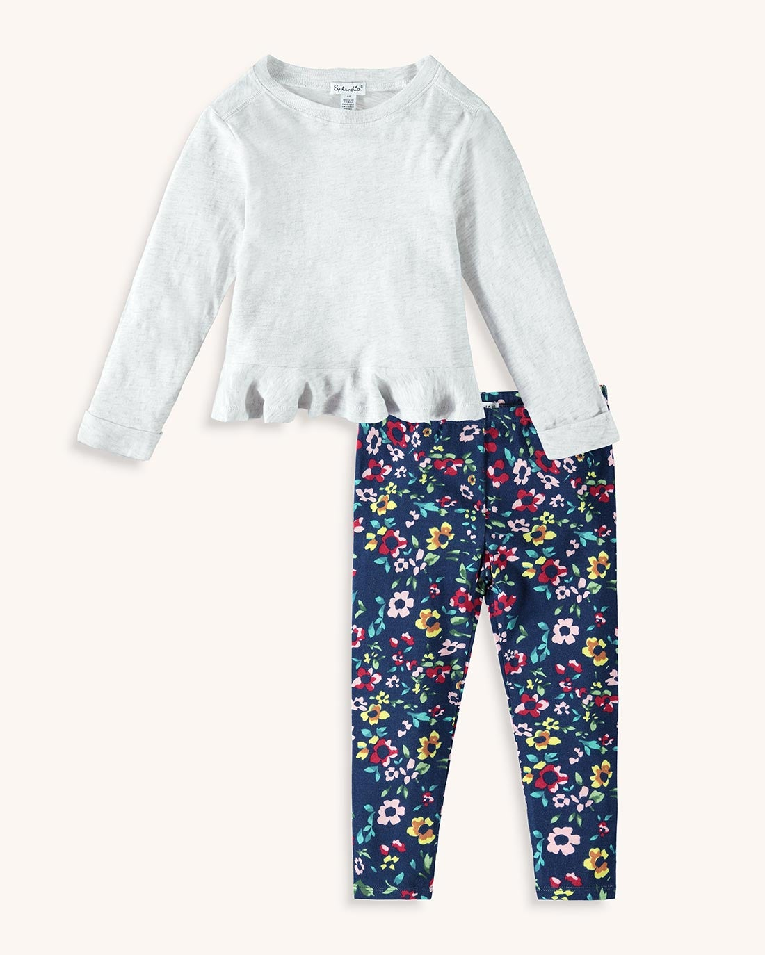 Little Girl Floral Legging Set