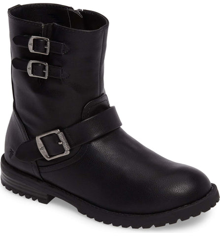 Veronica Buckle Strap Engineer Boot