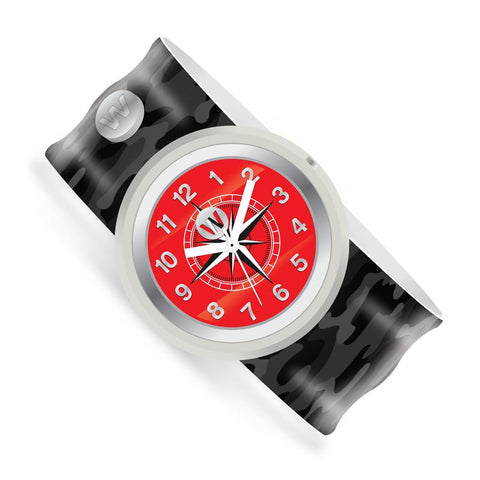 Watchitude Slap Watch - Black Ops