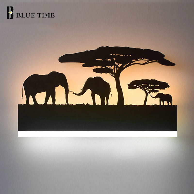 12W Acrylic Creative Modern Led Wall Light For Living Room