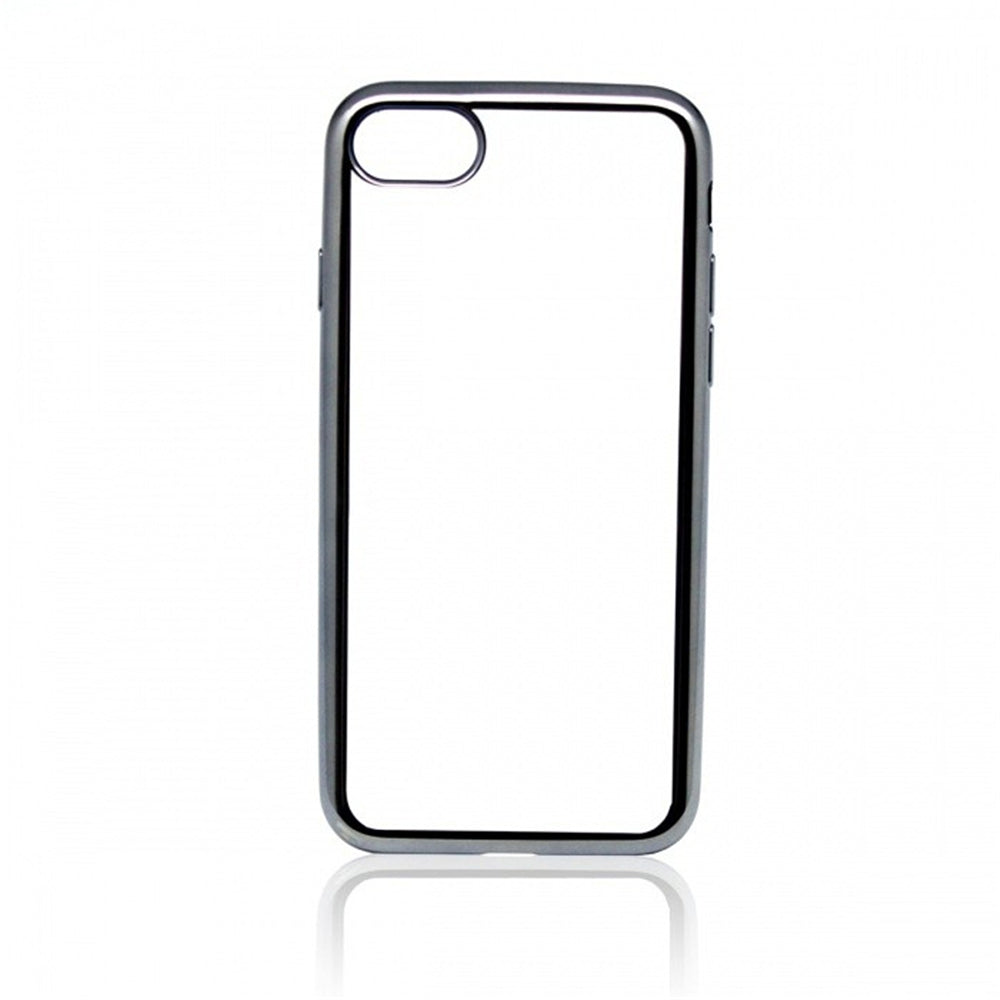 Protective Thin Electroplating Tpu Back Case Cover for iPhone 8