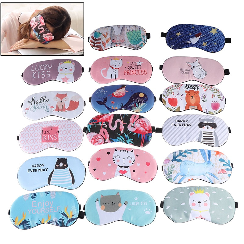 Creative Lovely Cartoon Sleeping Aid for Eye