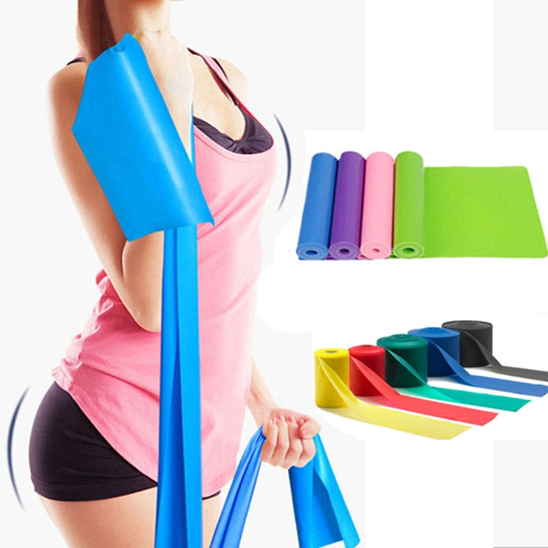 Latex Elastic Resistance Bands For Workout
