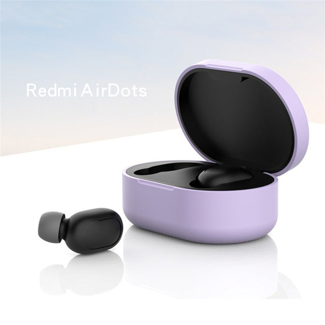 Protective Cover Earphone Case for Xiaomi Redmi Airdot TWS Bluetooth Earphone