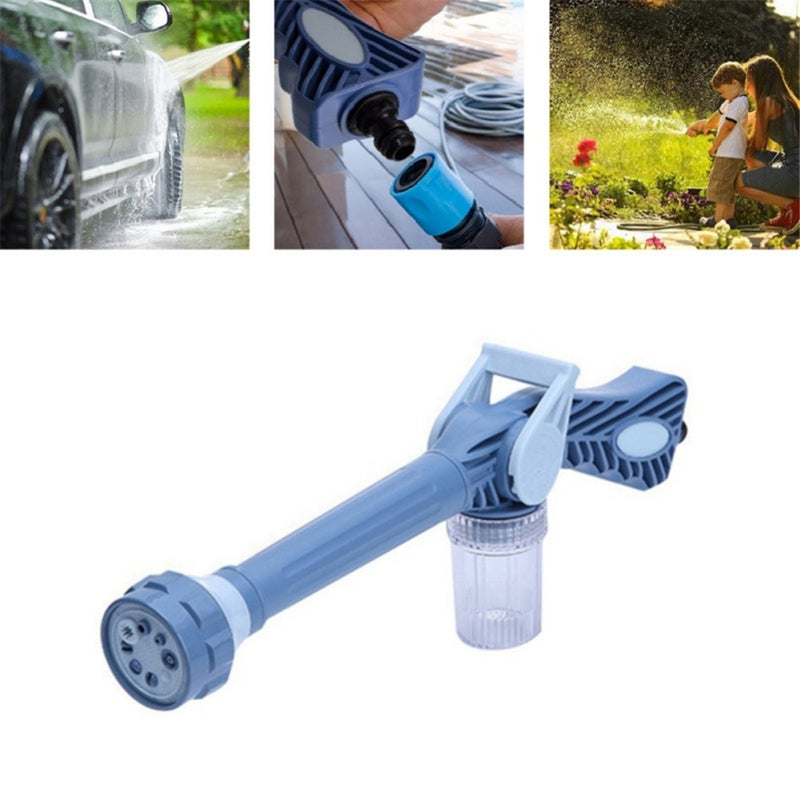 EZ Jet Water Cannon 8 In 1 Multifunctional Home Garden Car Cleaning Spray Gun
