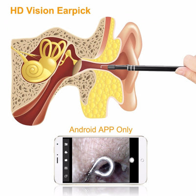 3 in 1 USB Ear Cleaning Tool with camera  for Android