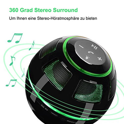 Magnetic Float Floating Black Adhesive Floating Ball Speaker with Sound Wireless Bluetooth Speaker: Amazon.de: MP3 & Hifi