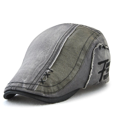 Men Summer Cotton Sport Hat Adjustable Outdoor Beret Hat