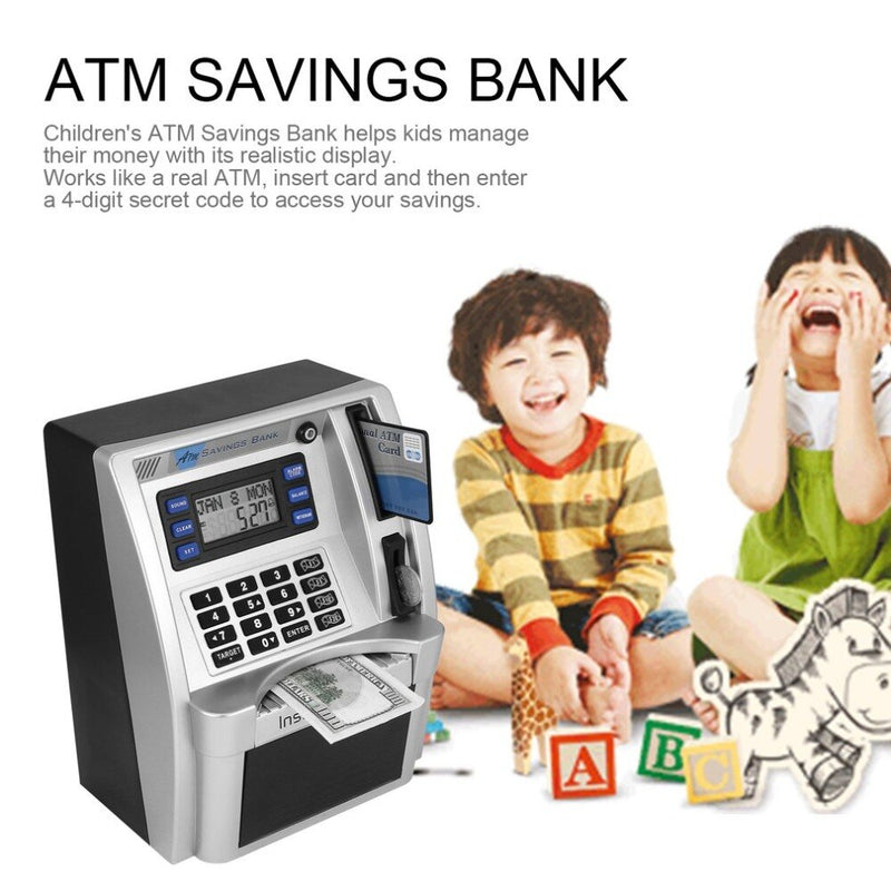 Talking ATM Savings Bank for kids