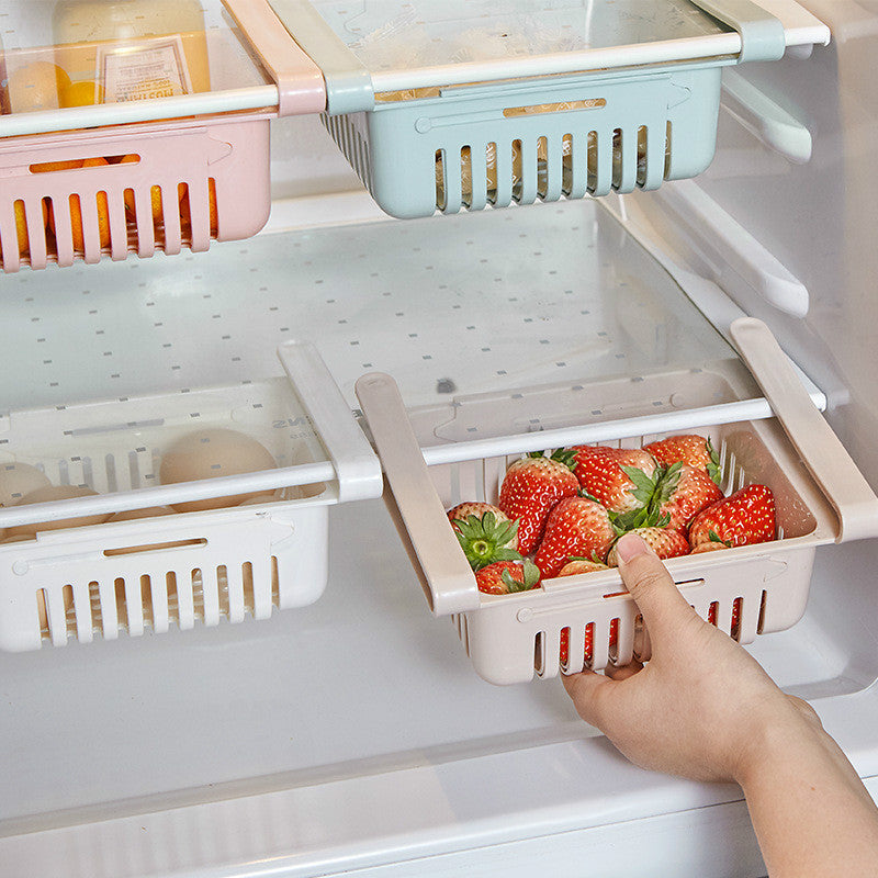 Adjustable & Stretchable Fridge Layer Storage