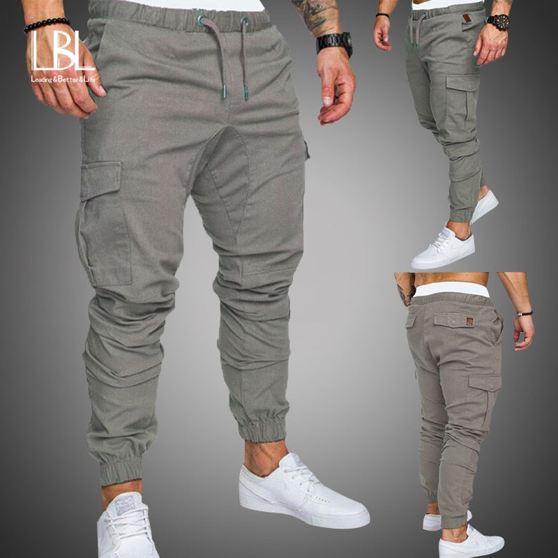 Hip Hop Harem Multi-pocket Joggers Pants
