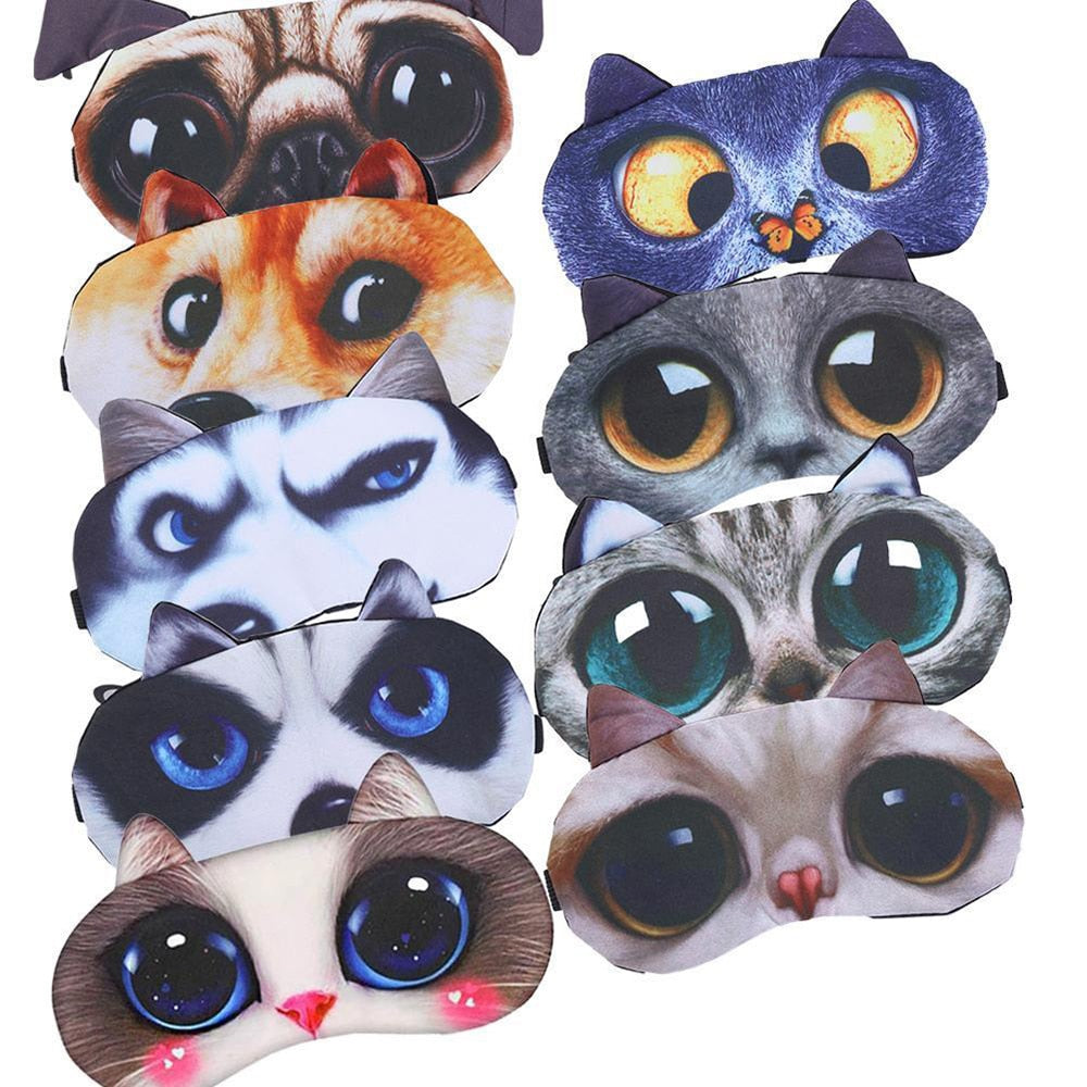 Cute Cat Sleep Eye Mask