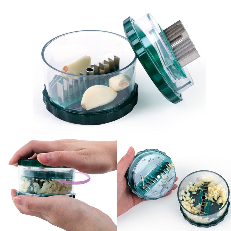 Multi-functional Garlic Chopper