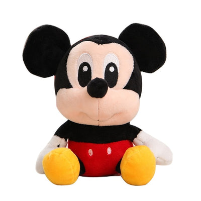 Disney Plush Toys Winnie the Pooh Mickey Mouse Minnie Cute Stuffed Animals Plush Doll Toy Lilo and Stitch Piglet toys Kid Gift