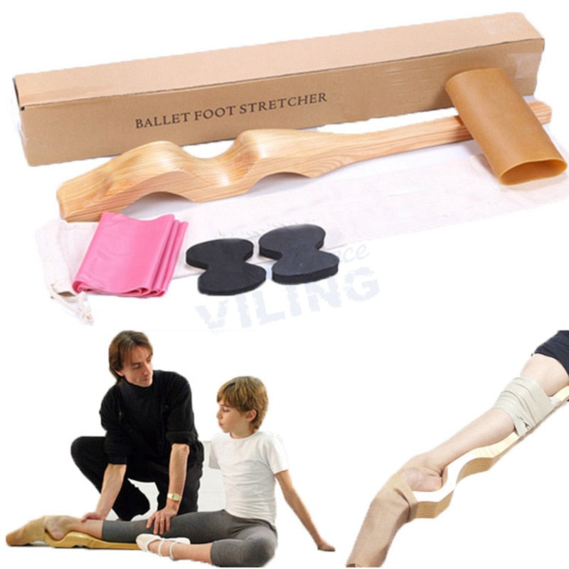 WOOD ARCH PROFESSIONAL BALLET FOOT STRETCHER